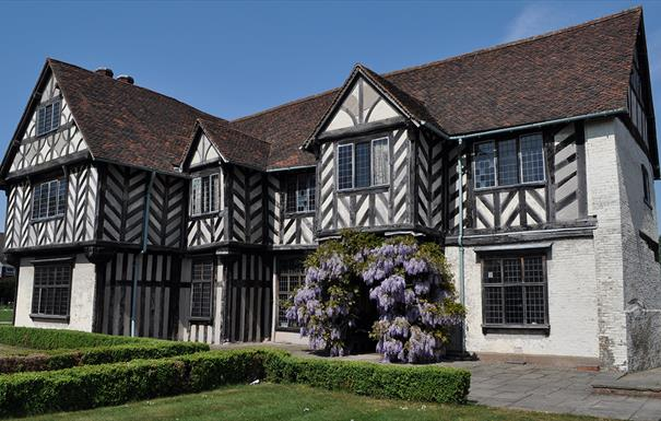 See inside Blakesley Hall