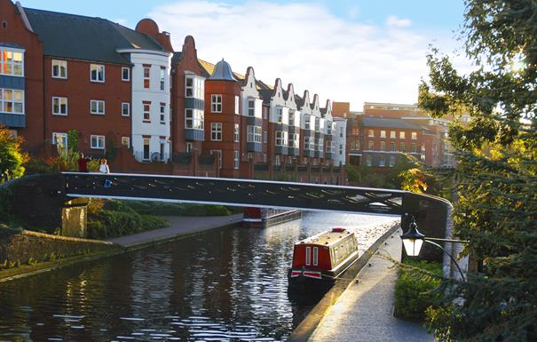 Birmingham City virtual canal walk
