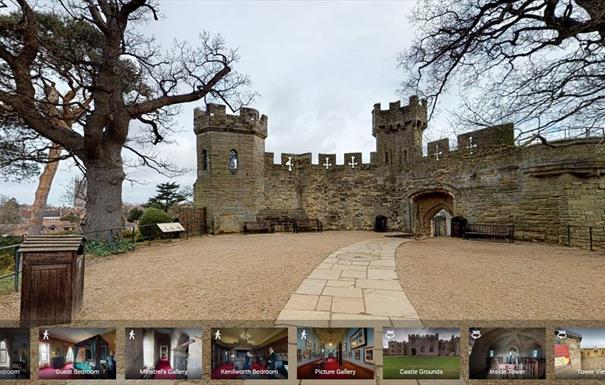 Warwick Castle free online resources